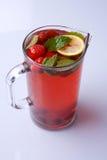 Hielo-té hecho en casa Imagenes de archivo