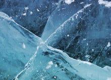 Hielo - textura Foto de archivo libre de regalías
