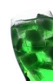 Hielo verde Imagen de archivo