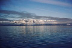 Hielo y agua árticos fotos de archivo libres de regalías