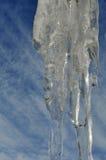 Hielo y cielo Foto de archivo