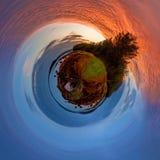 Hielo y fuego Imagen de archivo libre de regalías