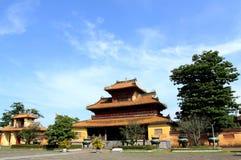 Hien Lam Cac Pavilion stock foto's