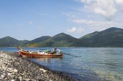 Hier is de pijler ook voor lokale visser Royalty-vrije Stock Foto's