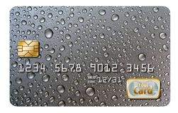 Hier is een origineel ontwerp als achtergrond die, oorspronkelijk als creditcardachtergrond wordt ontworpen royalty-vrije stock fotografie