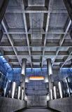 HRD metro de structuur van het postplafond Royalty-vrije Stock Afbeeldingen