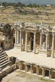 Hierapolis圆形剧场 免版税库存照片
