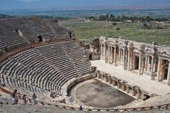 Hierapolis圆形剧场 图库摄影