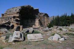 hierapolis坟茔 免版税库存照片