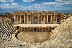 Hierapolis, θέατρο Στοκ εικόνα με δικαίωμα ελεύθερης χρήσης
