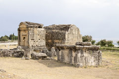 Hierapolis, Τουρκία Στοκ Φωτογραφία