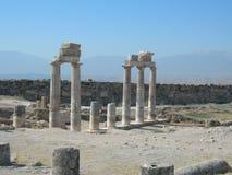 Hierapolis, Турция Стоковые Фото