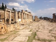 Hierapolis стоковое фото