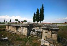 Hierapolis Arkivfoto