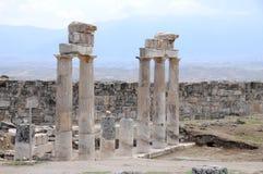 Hierapolis Στοκ φωτογραφία με δικαίωμα ελεύθερης χρήσης