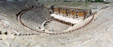 Hierapolis Amphitheatre, Anatolië Royalty-vrije Stock Foto