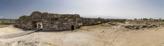Hierapolis Ancient Site, Turkey Royalty Free Stock Images