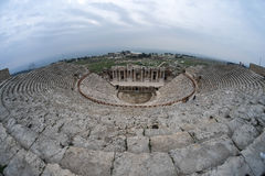 Hierapolis ancient theatre Royalty Free Stock Photography