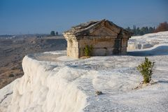 Hierapolis antikisieren Grab in Pamukkale, Denizli, die Türkei Stockbilder