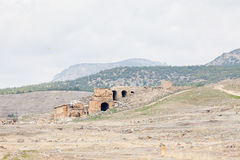 Hierapolis City Ruins Royalty Free Stock Photography