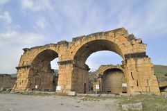 Hierapolis, Denizli, Turkey Royalty Free Stock Photo