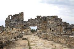 Hierapolis. Denizli, Turkey.  was an ancient Greco-Roman city in Phrygia royalty free stock image
