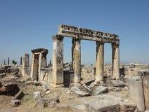 Hierapolis, die Türkei Lizenzfreies Stockbild