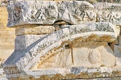 Hierapolis, die Türkei Stockfotografie