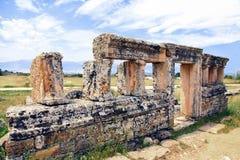 Hierapolis em Turquia Pamukkale Fotografia de Stock Royalty Free