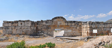 Hierapolis gate Stock Images