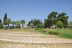 Hierapolis, giardino Mediterraneo Fotografia Stock Libera da Diritti