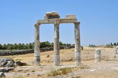 Hierapolis gymnasium Royalty Free Stock Images