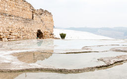 Hierapolis Hot Spring Royalty Free Stock Images