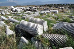 Hierapolis hoy Fotos de archivo