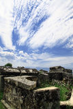 Hierapolis i Turkiet Pamukkale arkivbilder