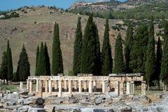 Hierapolis, Pamukkale, Denizli/Турция август 02/2018 стоковые фото