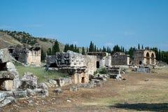 Hierapolis, Pamukkale, Denizli/Турция август 02/2018 стоковая фотография rf