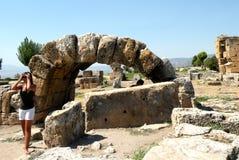 Hierapolis -  Pamukkale Stock Photos