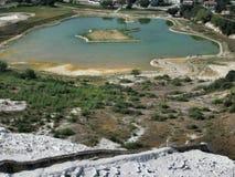 Hierapolis-Pamukkale Royalty Free Stock Photos