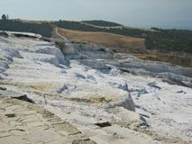 Hierapolis-Pamukkale Stock Images