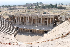 Hierapolis ruins of the ancient city Pamukkale Stock Image
