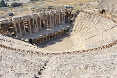Hierapolis ruins of the ancient city Pamukkale Stock Images