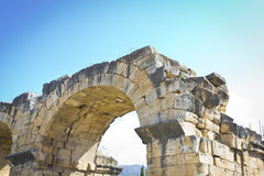 Hierapolis ruins Royalty Free Stock Images