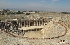 Hierapolis ruins Pamukkale, Turkey Stock Images