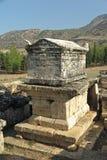 Hierapolis ruins Pamukkale, Turkey Royalty Free Stock Photo