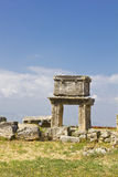 Hierapolis ruins Stock Images