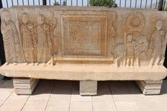 Hierapolis ruiny antyczny miasto Pamukkale zdjęcia royalty free