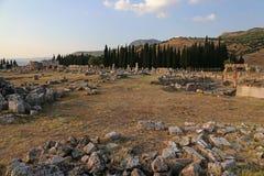 Hierapolis Site Royalty Free Stock Photo