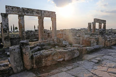 Hierapolis Sunburst Royalty Free Stock Images