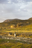 Hierapolis sunset Royalty Free Stock Photo